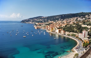 Crewed charter yachting on the French Riviera blends city, town and sea