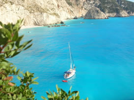 Greece offers secluded anchorages
