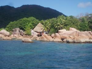 Island of Praslin, Seychelles