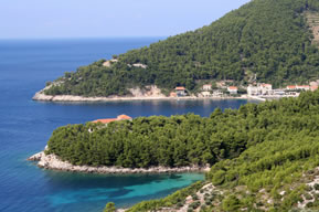 Croatia's spectacular cruising ground, with mountains meeting the sea