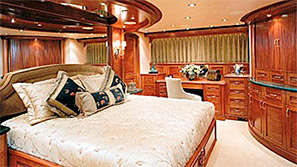 MY Impetuous master stateroom