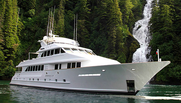 TALOS 127ft Flagship charter in Alaska