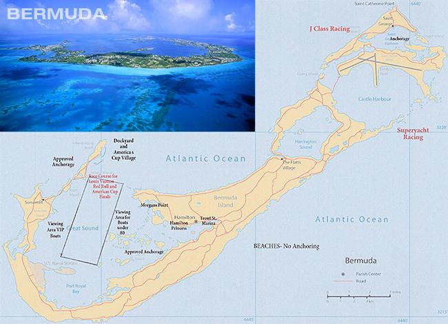Watch the Americas Cup in Bermuda