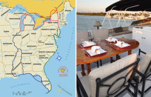 Explore the USA through the Great Loop aboard GOLDEN GIRL