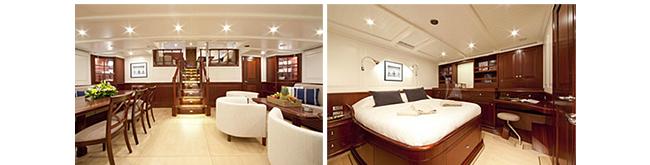 Classic yacht AURELIUS