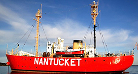 Nantucket Light Ship in NE or Zingaro in Caribbean