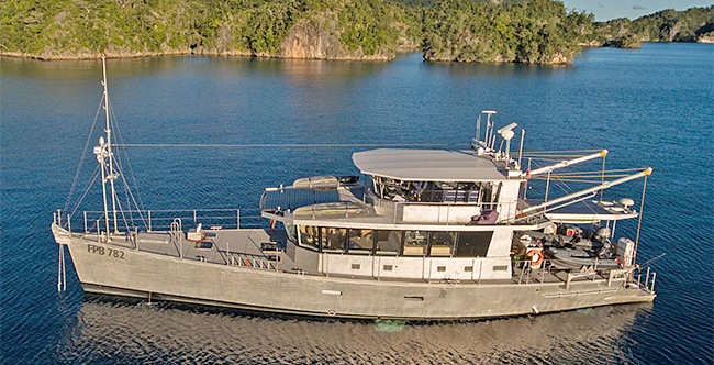REY WOLF is a 78' Explorer Yacht