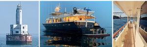 M/Y Ariadne cruises Cape Cod