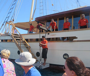 crewed yacht charter with sanderson yachting