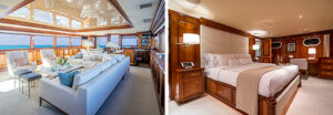 LEGACY 118ft Broward - Sanderson Yacht Charters