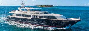 LEGACY 118ft Broward - Sanderson Yacht Charters