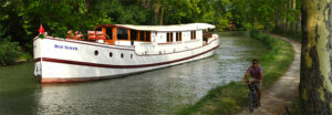 ROI du SOLEIL luxurious river yacht on french canals