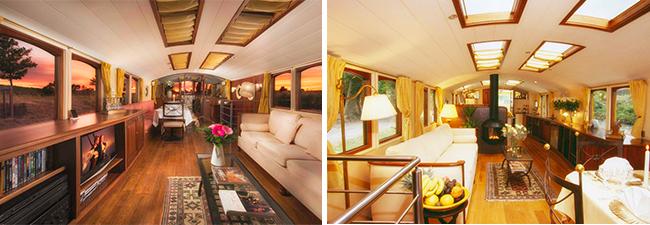 luxurious river yacht ROI du SOLEIL - Sanderson Yacht Charters
